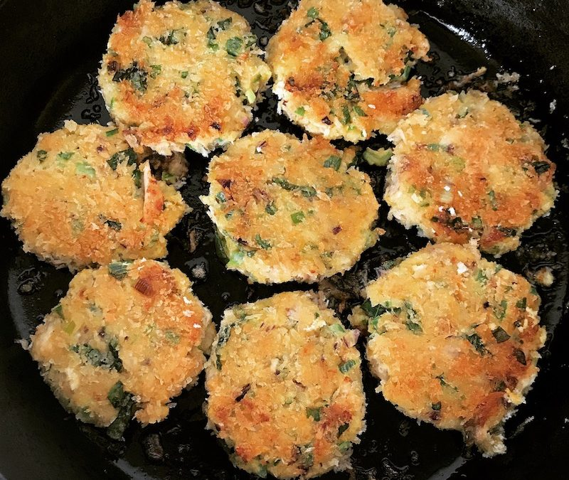 Couscous cakes – turning leftovers into 'bestovers'